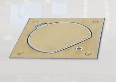 Brass Rated Outlet Security Lid Gromtec