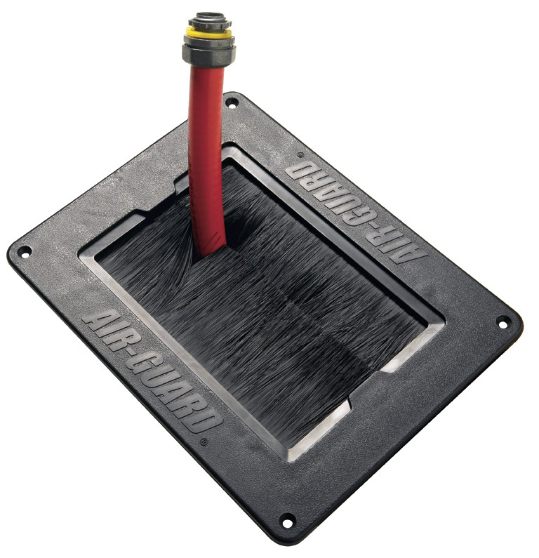 Brush Seal Cable Grommet Floor Box Grommet Air Flow